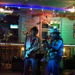 Dicky with good friend Mero Cortez on Bass At Laguna Bob's South Padre Island, TX